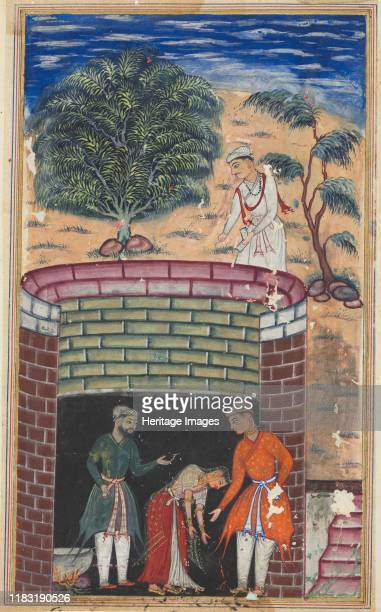 Seventh night The daughter of the king of the jinns bows before the King of Kings who has just undergone the ordeal of passing through boiling oil to...