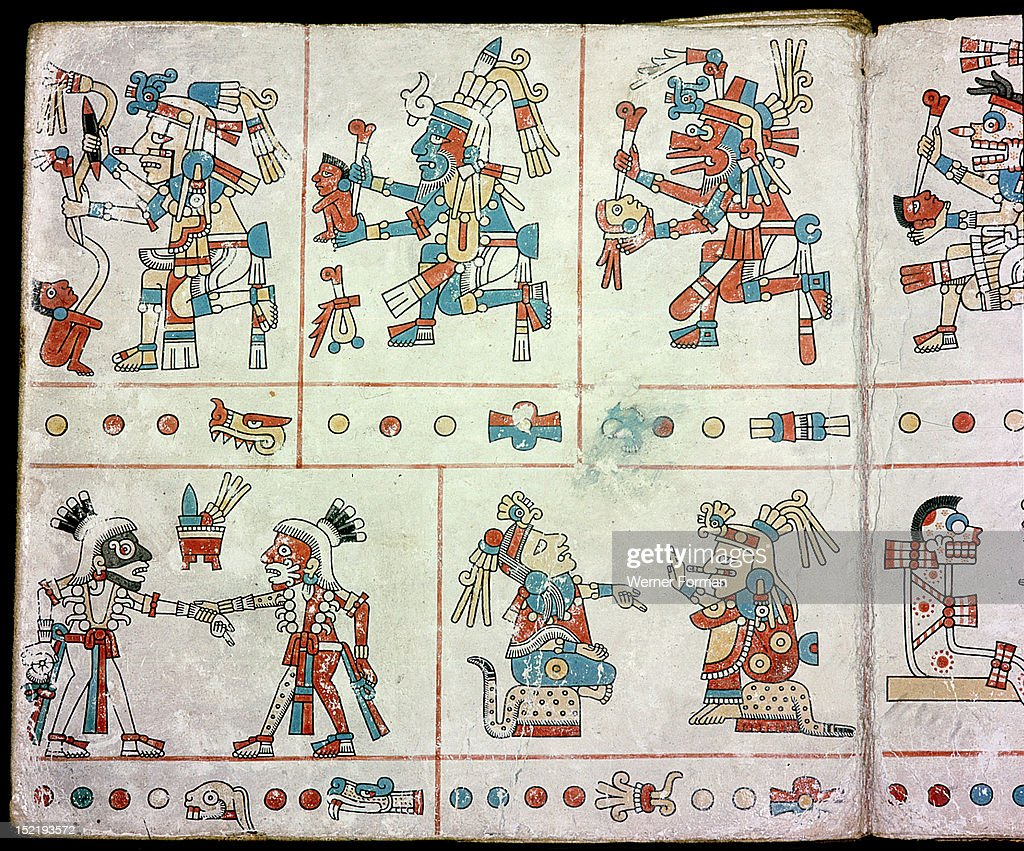 Page from the codex fejervary mayer a ritual codex used as a page from the codex fejervary mayer a ritual codex used as a birth chart nvjuhfo Image collections