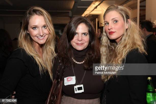 Page Goss Amelie Escher and Eisley Taugins attend SLIDE LUCK Auction Fundraiser Hosted By Patrick McMullan DJ Spooky at Sandbox Studio on December 8...