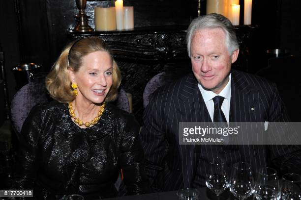 Page Lee Huffy Bell and Ted Bell attend WSJ MAGAZINE and The House of KRUG Invite You to Dinner With Novelist TED BELL at The Lion on October 25 2010...