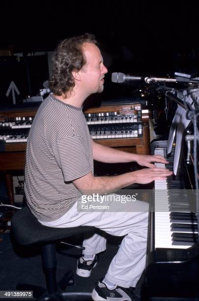Page McConnell of Phish performs with Phil Lesh and Phriends in April 1999 at the Warfield Theater San Francisco California