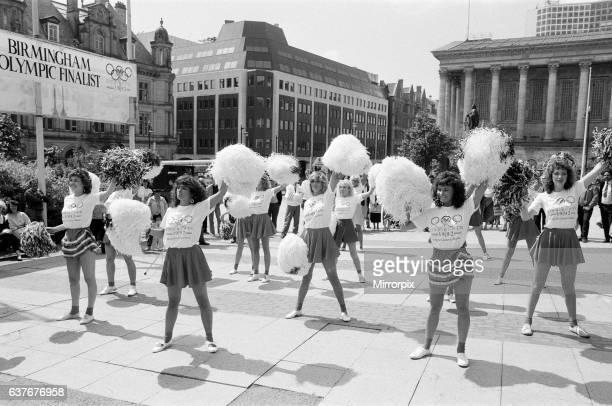 Page Three girls back Birmingham City Olympic bid 8th July 1986