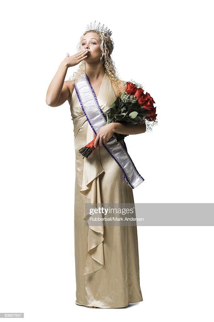 pageant winner : Stock Photo