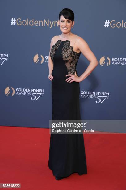 Paget Brewster attend the 57th Monte Carlo TV Festival Closing Ceremony on June 20 2017 in MonteCarlo Monaco