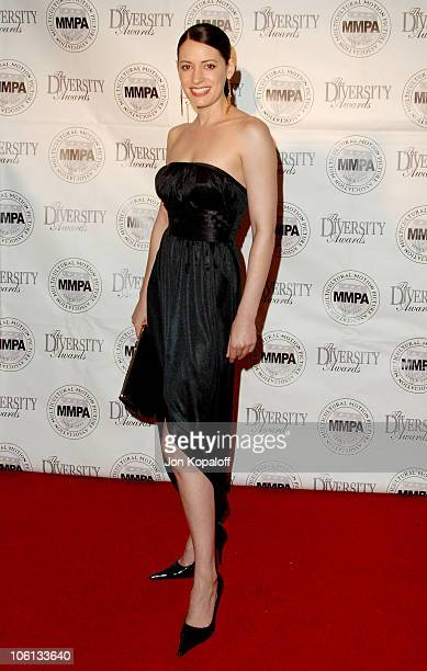 Paget Brewster during 14th Annual Diversity Awards Arrivals at Century Plaza Hotel in Century City California United States