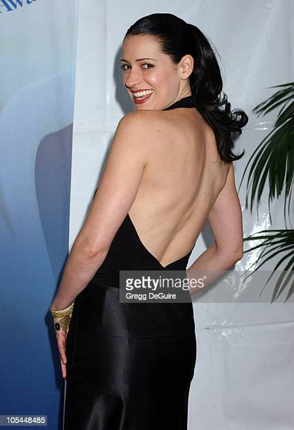 Paget Brewster during 57th Annual Writers Guild Awards - Arrivals at Hollywood Palladium in Hollywood, California, United States.