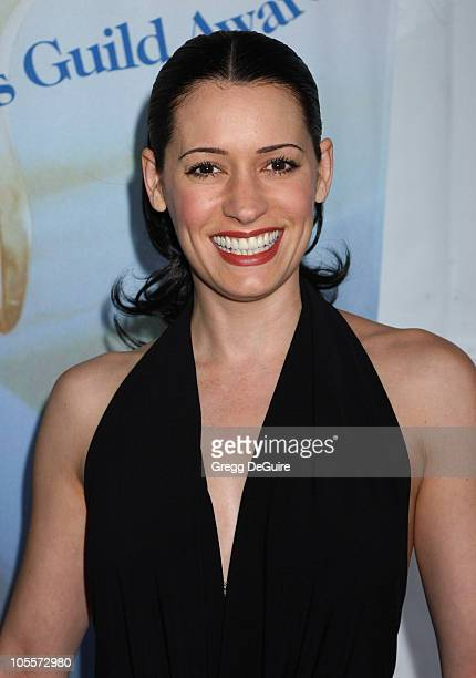 Paget Brewster during 57th Annual Writers Guild Awards Arrivals at Hollywood Palladium in Hollywood California United States