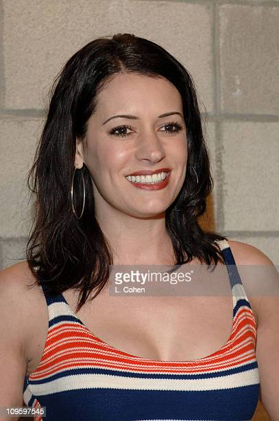 Paget Brewster during CBS/Paramount/UPN/Showtime/King World 2006 TCA Winter Press Tour Party Red Carpet at The Wind Tunnel in Pasadena California...