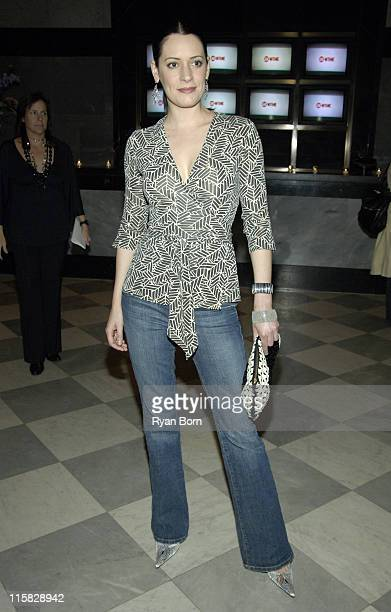 Paget Brewster during 'Huff' Season 2 Premiere New York Preview Screening at The Museum of Television and Radio in New York City New York United...
