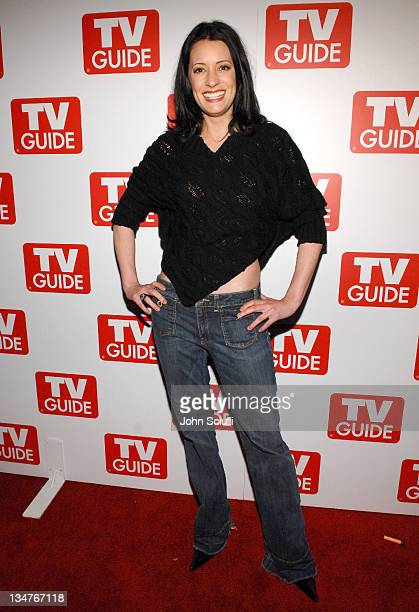 Paget Brewster during TV Guide Celebrates the Premiere Annual Issue The Sexy Issue at Bar Marmont in West Hollywood California United States