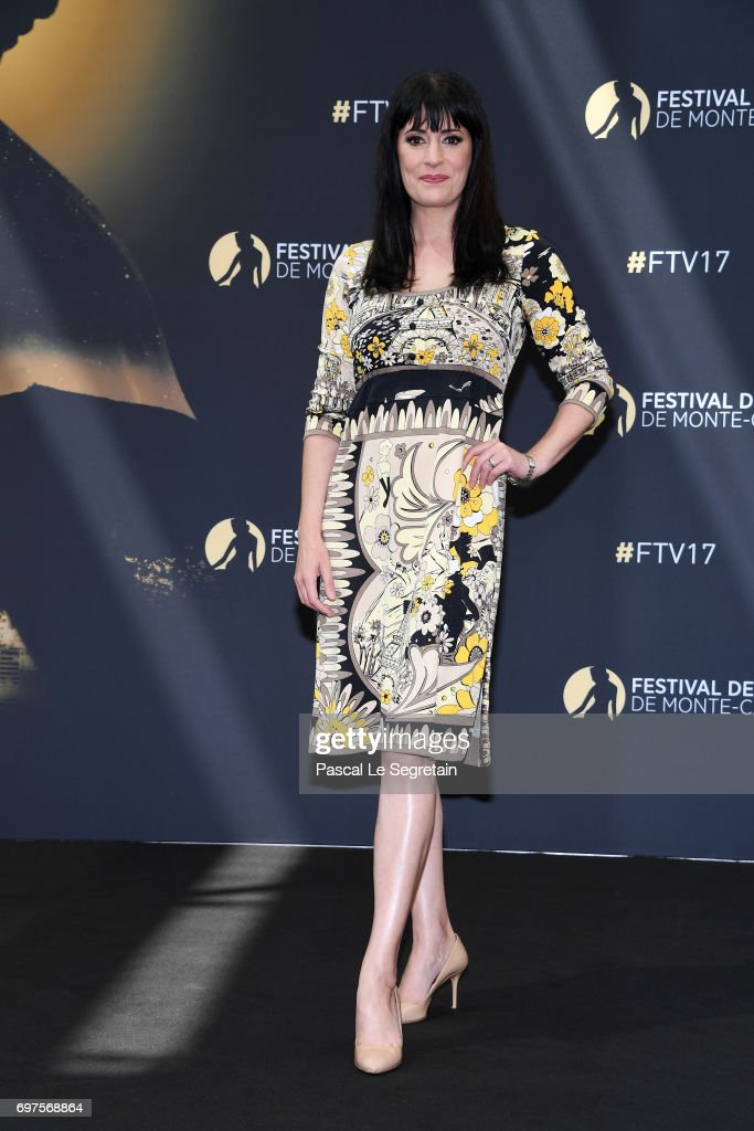 Paget Brewster from 'Criminal Minds' attends a photocall during the 57th Monte Carlo TV Festival : Day 4 on June 19, 2017 in Monte-Carlo, Monaco.