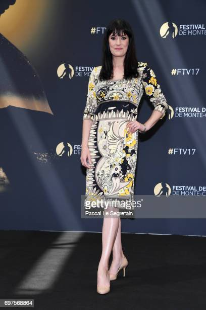 Paget Brewster from 'Criminal Minds' attends a photocall during the 57th Monte Carlo TV Festival Day 4 on June 19 2017 in MonteCarlo Monaco