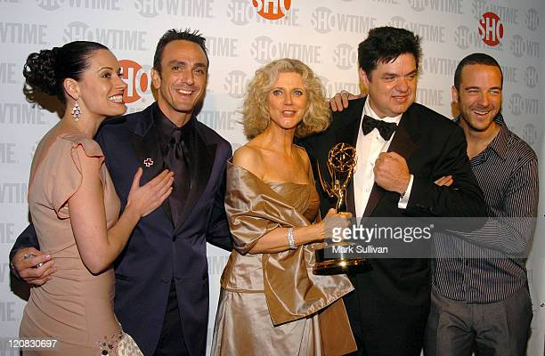 Paget Brewster Hank Azaria Blythe Danner Oliver Platt and Andy Comeau