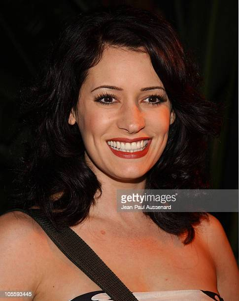 Paget Brewster of Huff during Showtime TCA Press Tour Party Arrivals at Universal Studios Stage 6 in Universal City California United States
