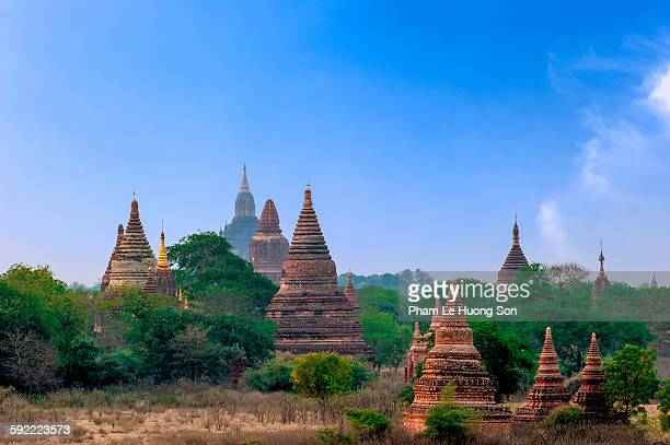 Pagoda in Old Bagan Myanmar