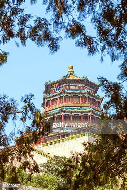 Pagoda in the summer palace complex, Beijing