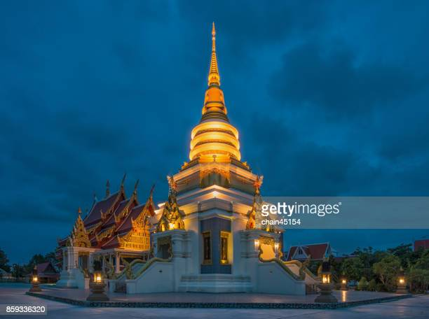 Pagoda in the temple in Thailand.