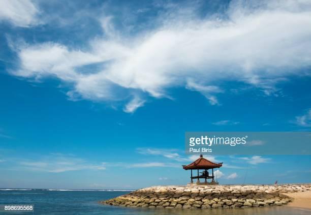 Pagoda on Sanur Beach, Bali, Indonesia