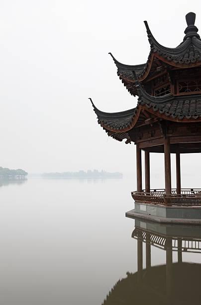 Pagoda on West Lake, Hangzhou, Zhejiang
