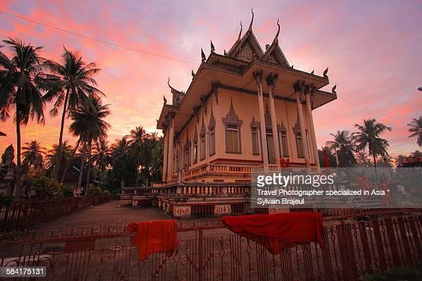 pagoda wat slaket -  brajeul sylvain photos et images de collection
