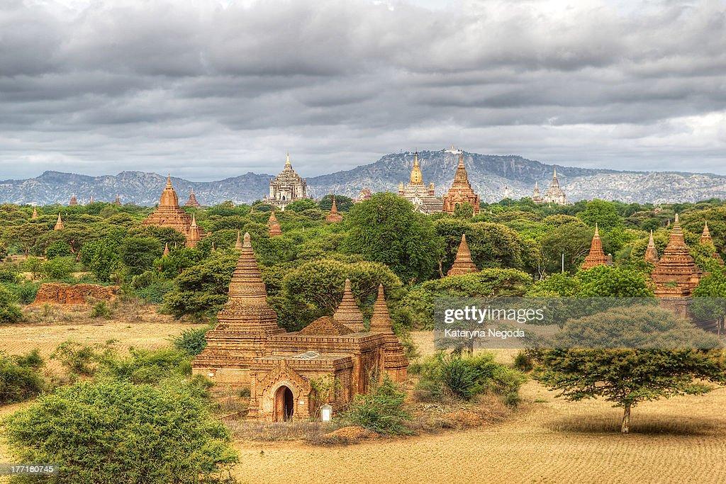 Pagodas of Bagan : Stock Photo