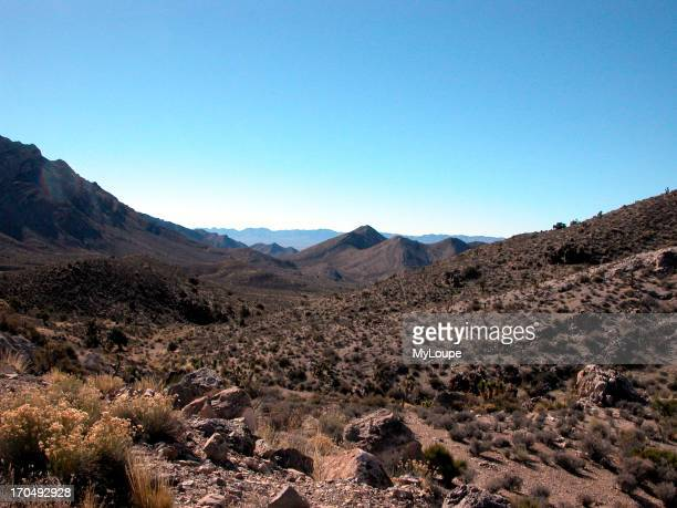 Pahranagat Range Between Rachel And Alamo In Central Nevada Looking WestSouthwest Toward Nellis Bombing Range And Area 51