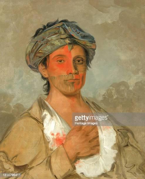 Pah-te-cóo-saw, Straight Man, Semicivilized, 1830. Artist George Catlin.