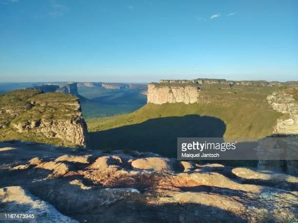 pai inácio hill - chapada diamantina - bahia - brazil - cerrado stock pictures, royalty-free photos & images