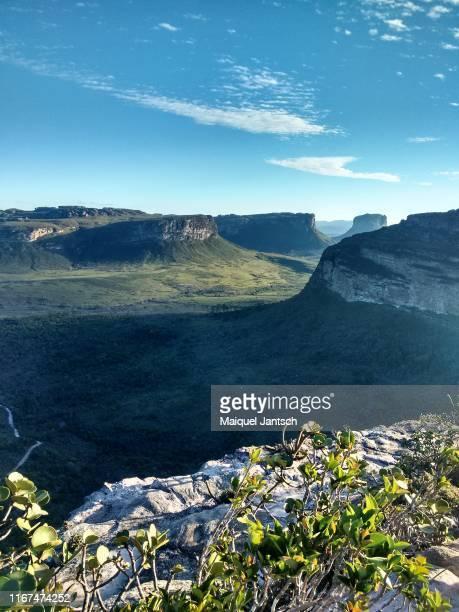 pai inácio hill - chapada diamantina - bahia - brazil - parco nazionale di chapada diamantina foto e immagini stock