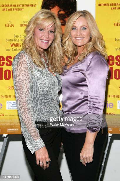 Paige AdamsGeller and Alex Witt attend SPECIAL SCREENING OF DESERT FLOWER at MOMA West 53rd Street on September 19 2010 in New York City