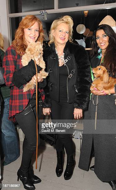 Paige AdamsGeller and Alison Jackson attend Luxury dog cat outfitters Mungo Maud invite fourlegged guests with VIP owners to launch their...