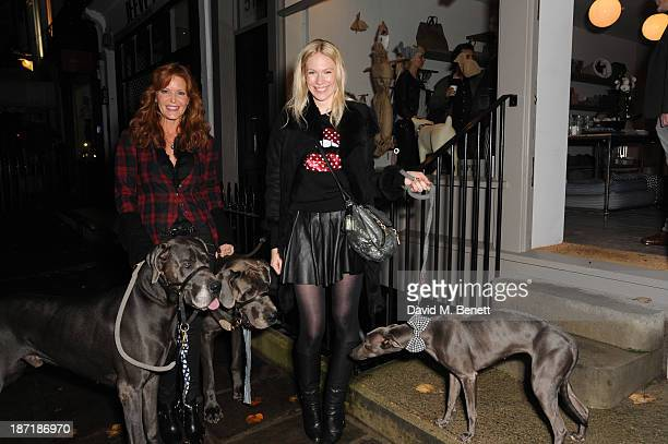 Paige AdamsGeller and Tuuli Shipster attend Luxury dog cat outfitters Mungo Maud invite fourlegged guests with VIP owners to launch their...