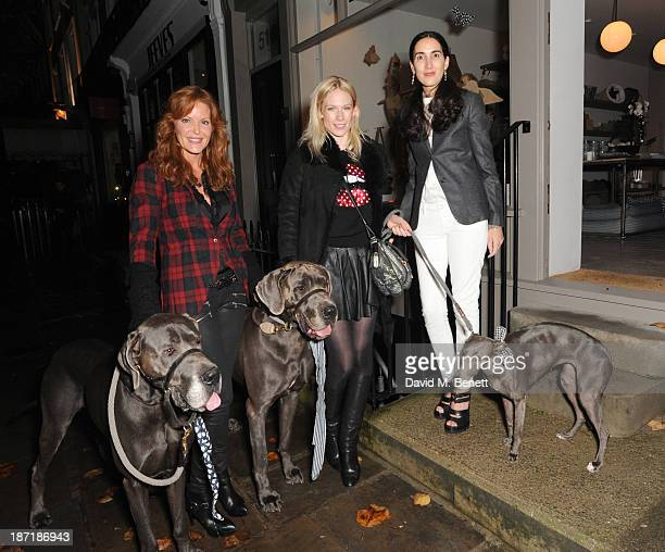 Paige AdamsGeller Tuuli Shipster and Nicola Sacher attend Luxury dog cat outfitters Mungo Maud invite fourlegged guests with VIP owners to launch...