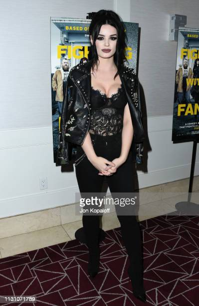 Paige Bevis attends Fighting With My Family Los Angeles Tastemaker Screening at The London Hotel on February 20 2019 in West Hollywood California