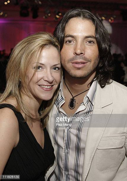 Paige Bishop and Jorge Moreno during Faces of Latin America 2006 YouthAIDS Gala at Ritz Carlton Tysons in McLean Virginia United States