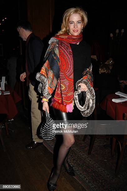 Paige Bluhdorn attends Kim Garfunkel performance at Au Bar on January 17 2005 in New York City