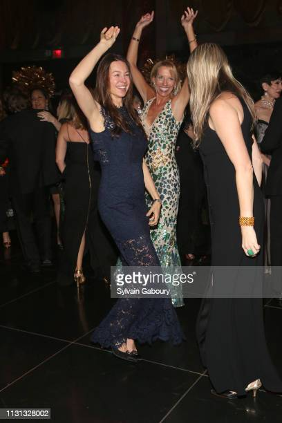 Paige Boller and Stephanie Hessler attend Museum Of the City Of New York Winter Ball at Cipriani 42nd Street on February 21 2019 in New York City