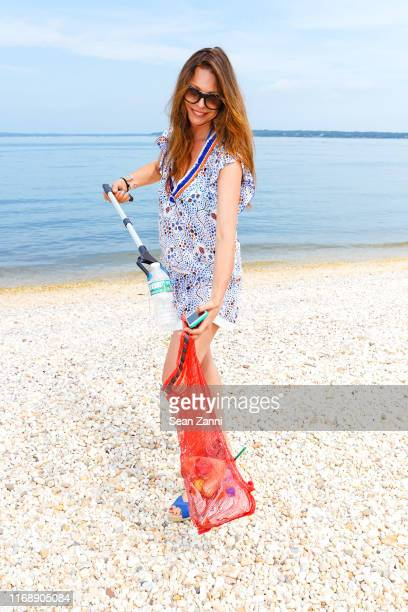 Paige Boller attends the Nicole Miller Walk N' Rosé Event With Group For The East End on August 18 2019 in Sag Harbor New York
