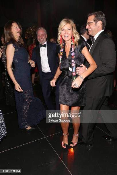 Paige Boller Jack Lynch Kathy Prounis and Othon Prounis attend Museum Of the City Of New York Winter Ball at Cipriani 42nd Street on February 21 2019...