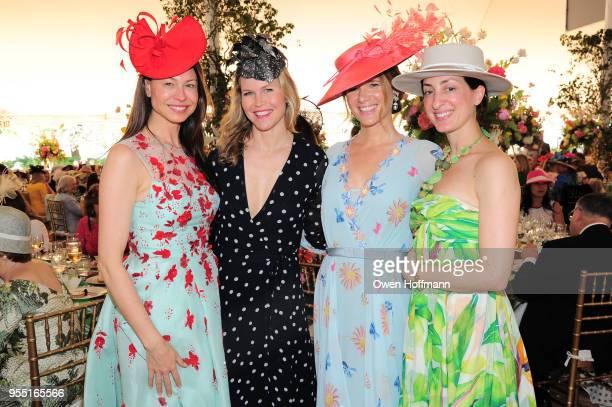 Paige Boller Shirin von Wulffen Amandine Freidheim and Laureline de Lichana attend 36th Annual Frederick Law Olmsted Awards Luncheon Central Park...