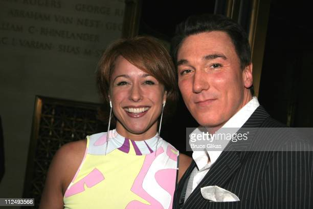 Paige Davis and husband Patrick Page who is in the play