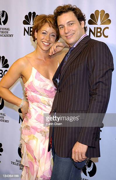 Paige Davis and Rocco DiSpirito during 31st Annual Daytime Emmy Awards Pressroom at Radio City Music Hall in New York City New York United States