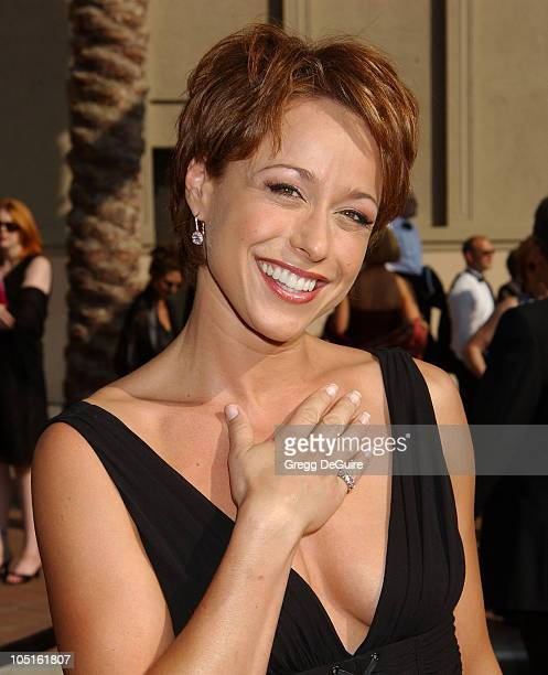 Paige Davis during 2003 Emmy Creative Arts Awards Arrivals at Shrine Auditorium in Los Angeles California United States