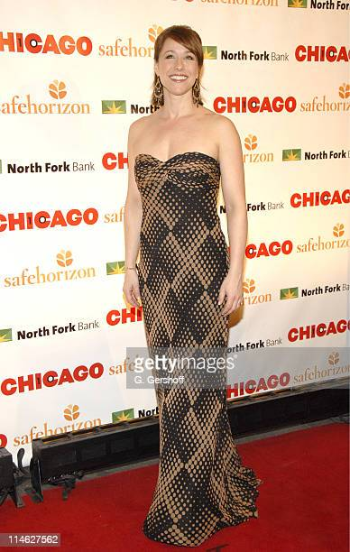 Paige Davis during Chicago the Musical Celebrates its 10th Anniversary on Broadway Arrivals at Ambassador Theater in New York City New York United...