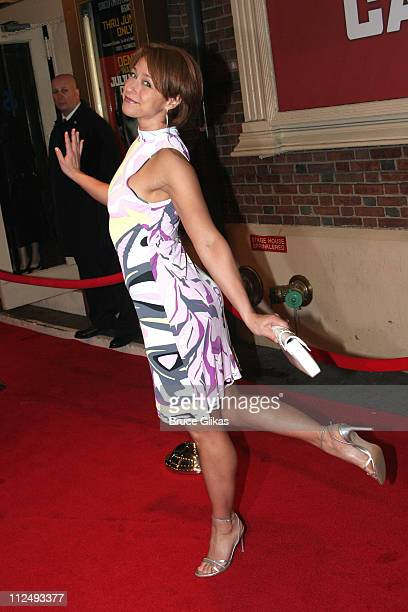 Paige Davis during Julius Caesar on Broadway Arrivals April 3 2005 at The Belasco Theater in New York City New York United States