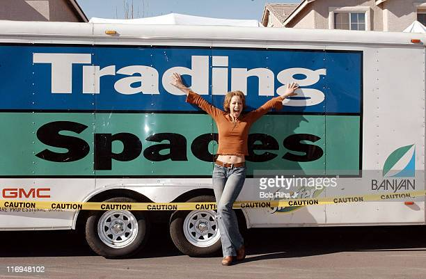Paige Davis host of TLC's Trading Spaces in which neighbors switch homes for 48 hours and redocorate a room in each other's home with help from the...