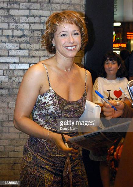 Paige Davis of Trading Spaces during Trading Spaces Star Paige Davis Returns To Broadway in Chicago Outside at The Ambassador Theater in New York...