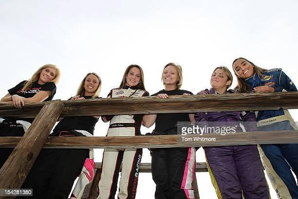 Paige Decker of Eagle River, Wisconsin, Lindsay Katz of Kalamazoo, Michigan, Amber Colvin of Mooresville, North Carolina, Jessica Dana of Olympia,...