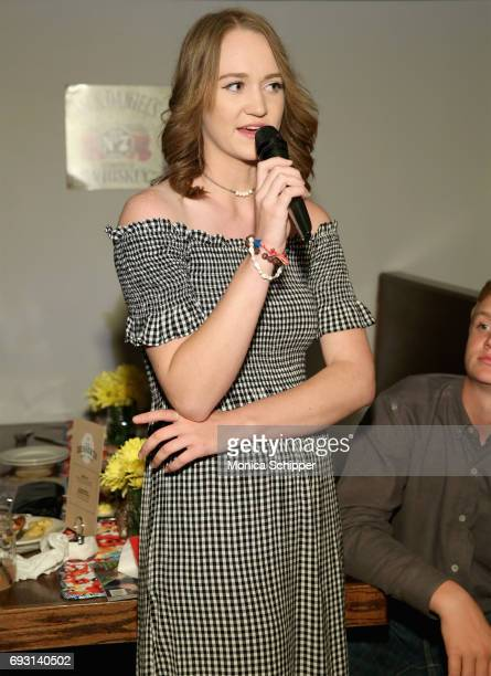 Paige Drummond speaks during The Pioneer Woman Magazine Celebration with Ree Drummond at The Mason Jar on June 6, 2017 in New York City.