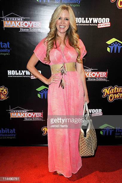 Paige Hemmis arrives at ABC's Extreme Makeover Home Edition Benefiting Habitat For Humanity Los Angeles on May 21 2011 in Culver City California